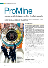 ProMine research and industry partnerships yield lasting results